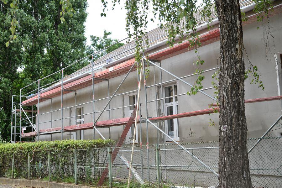 Szociális intézmények felújítási munkálatai Nyírszőlősön