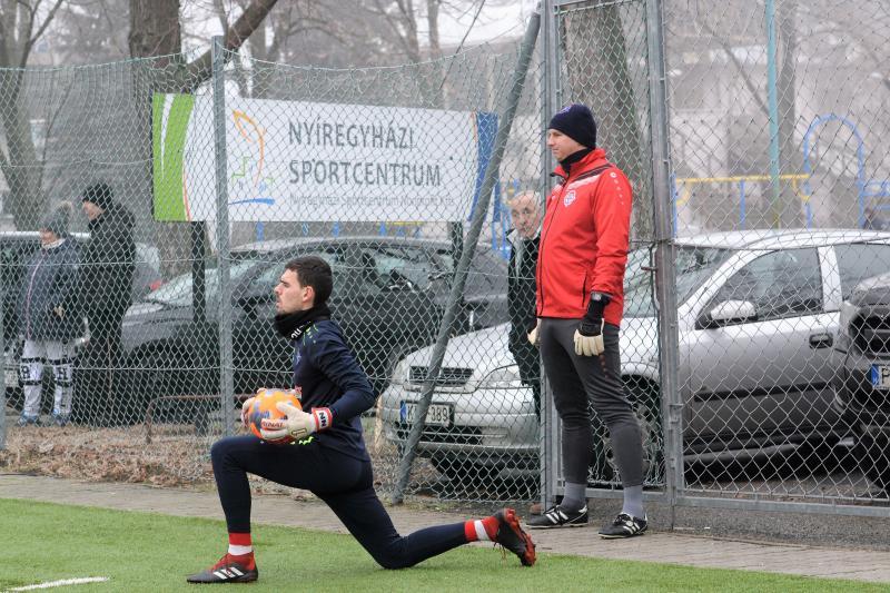 Szpari-Debrecen labdarúgó edzőmérkőzés