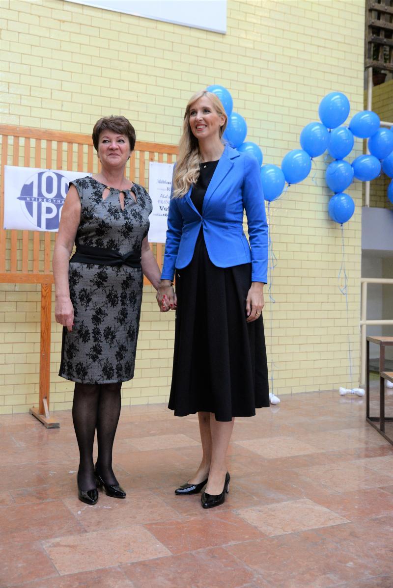 Tanévnyitó ünnepség a 100 éves Vasvári Pál Gimnáziumban