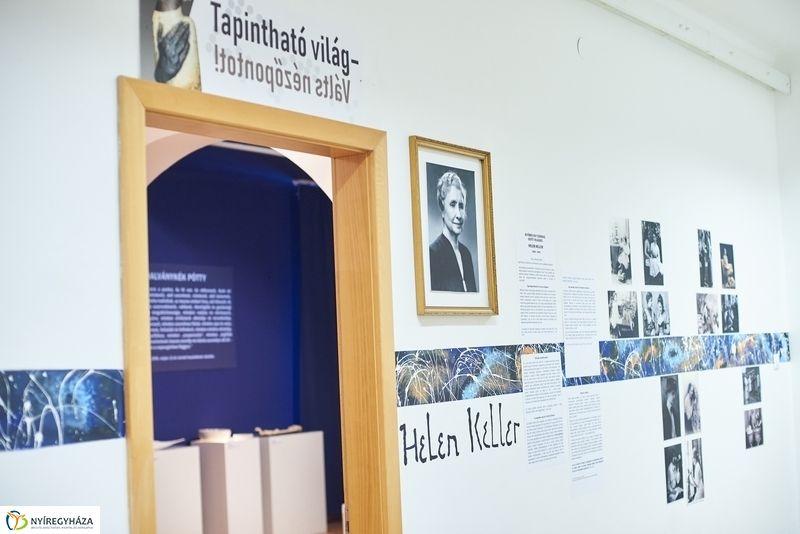 Tapintható kiállítás a múzeumban