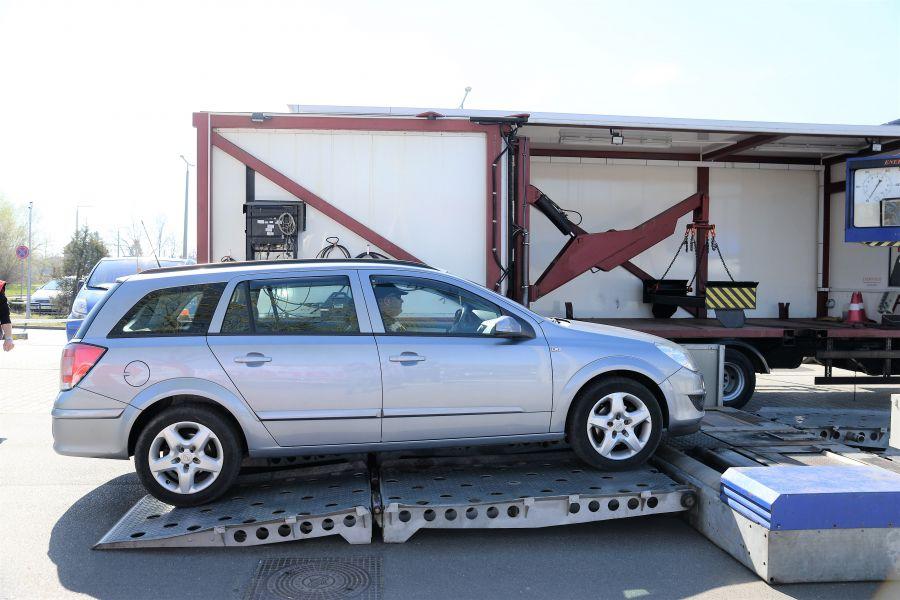 Ingyenes tavaszi gépjármű átvizsgálási  akció a Nyír-Pláza parkolóban