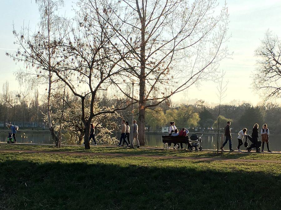 Tavaszi délután Sóstón
