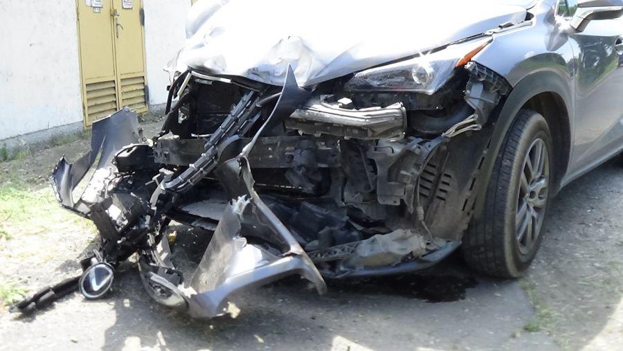 Teherautó és terepjáró ütközött a Simai úton