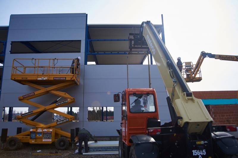 Telephely bővítés - Nyír-Lift