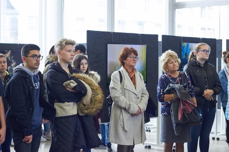 Természetfotó kiállítás a kulturális központban