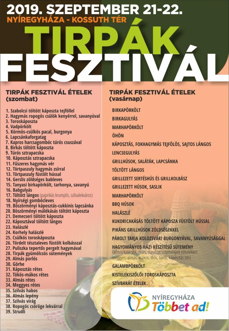 Tirpák Fesztivál 2019.
