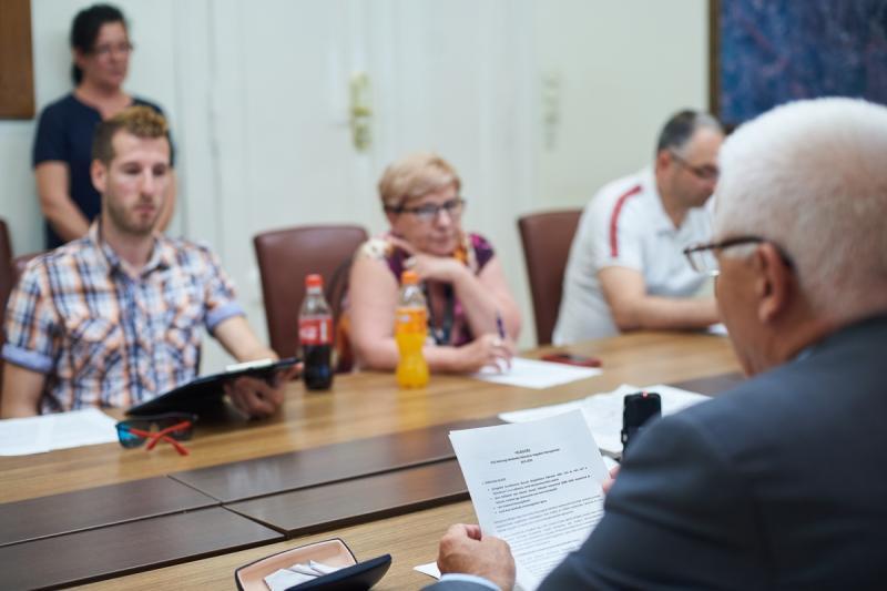 Tömegközlekedés Nyíregyházán - sajtótájékoztató