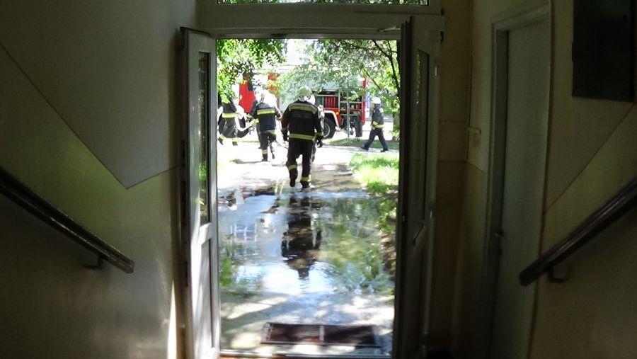 Tűz ütött ki egy Ferenc körúti lakásban