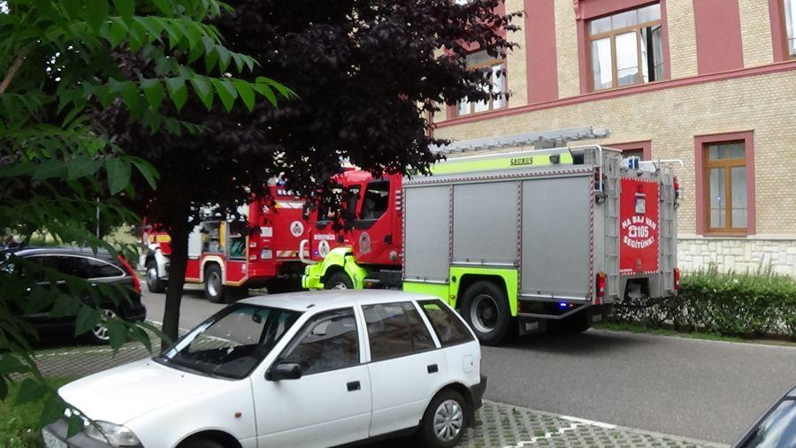 Tűzriasztó indult be a Jósa András Oktatókórházban