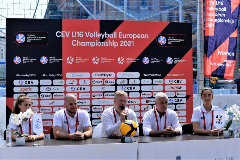 U 16 röplabda Európa - bajnokság kezdődik Nyíregyházán