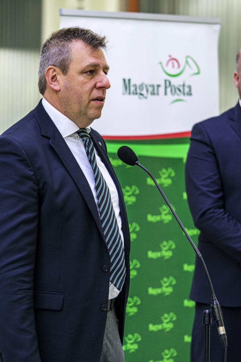 Új telephelyet adott át a Magyar Posta Zrt.