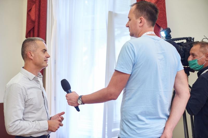 Új turisztikai attrakció Sóstógyógyfürdőn sajtótájékoztató