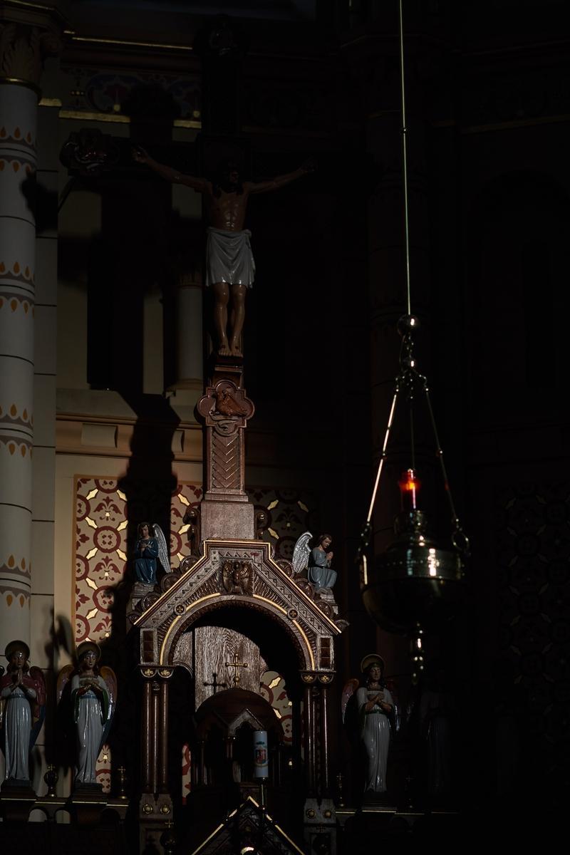 Urunk szenvedésének ünneplése Nagypénteken