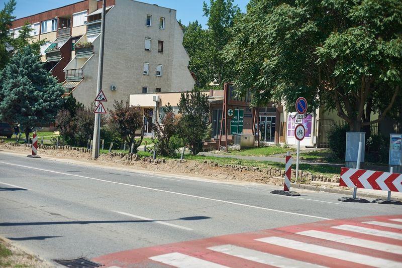 Útfelújítás a Rákóczi utcán