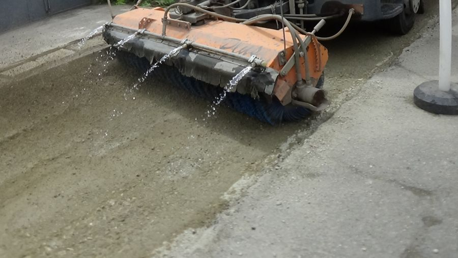 Útfelújítási munkálatok a Kertvárosban