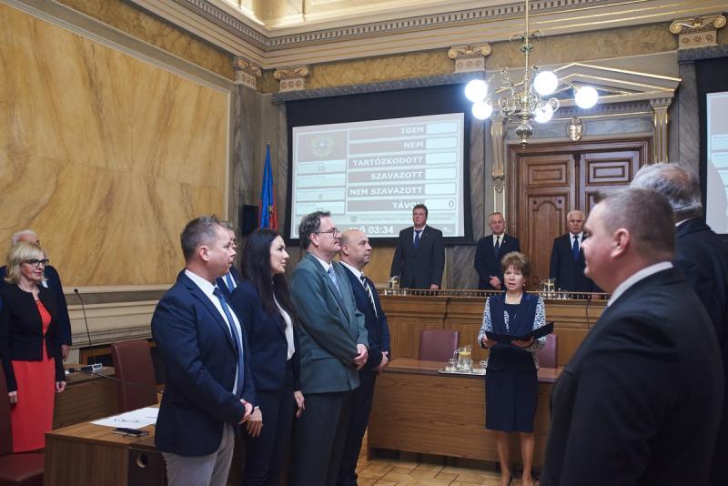 Városi Közgyűlés 20191107