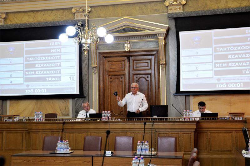 Városi Közgyűlés 2021-06-25