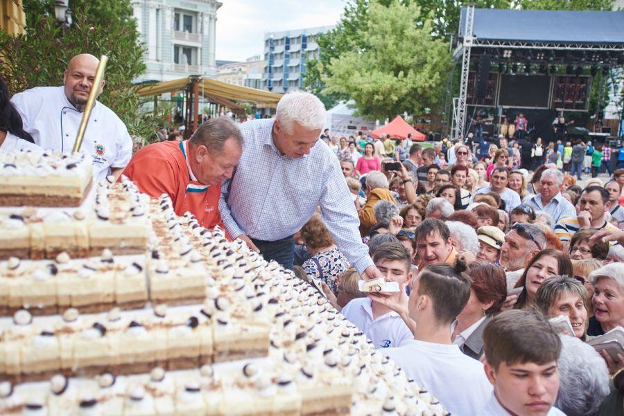Városnap 2019 - a Város Tortája