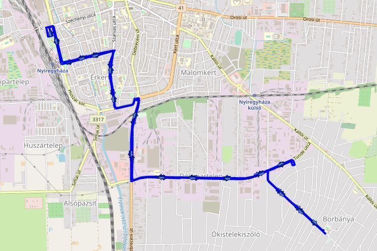 Városrészi és teljes hálózati térképek