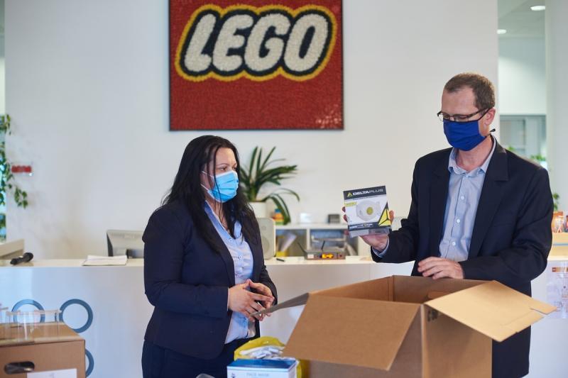 Védőszemüvegek a LEGO-tól
