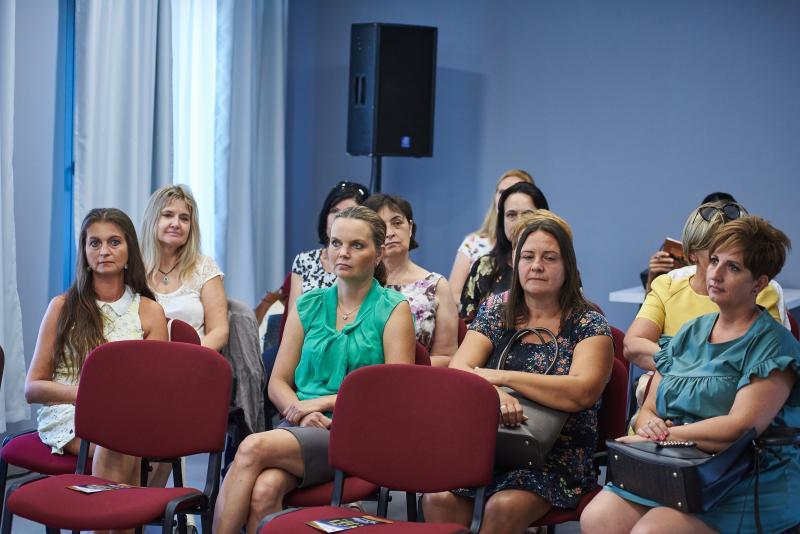 Védőnői szakmai értekezlet a Kállay Házban