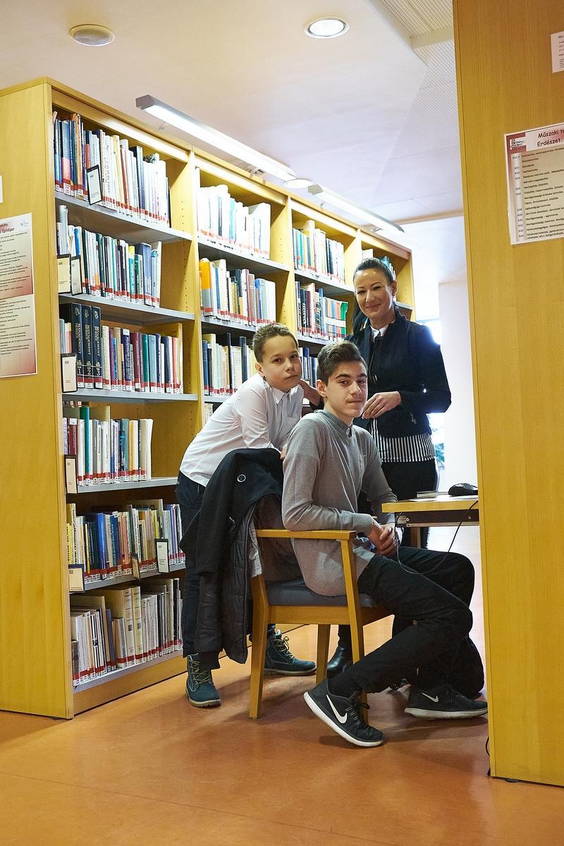 Verseny a könyvtár használatról