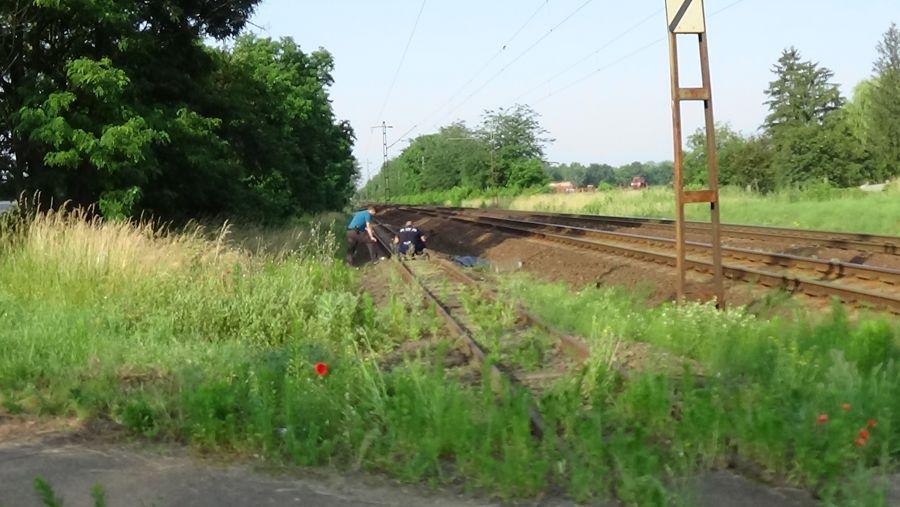 Vonatgázolás a Kótaji útnál