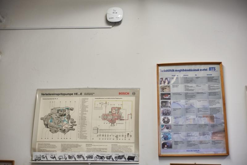 Wifi rendszer átadó a Bánki Donát iskolában