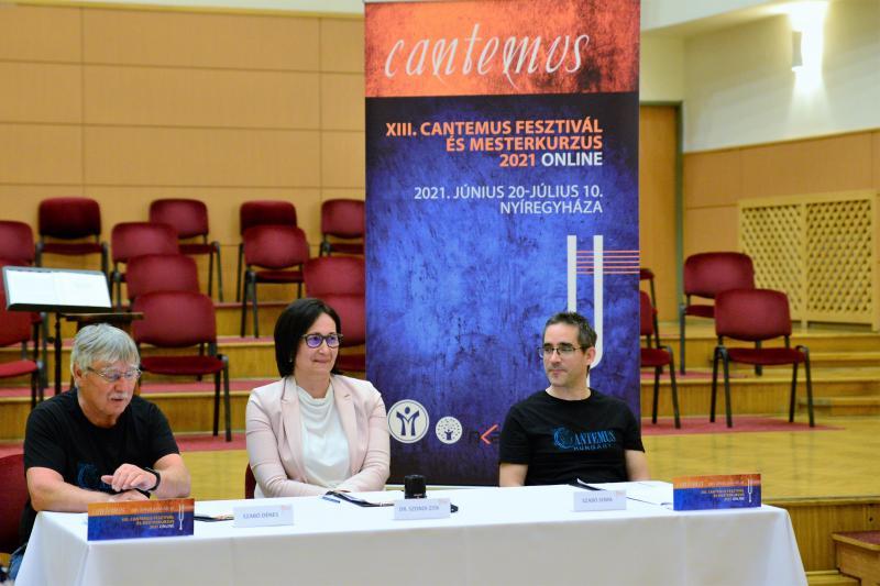 XIII. Cantemus Fesztivál sajtótájékoztató