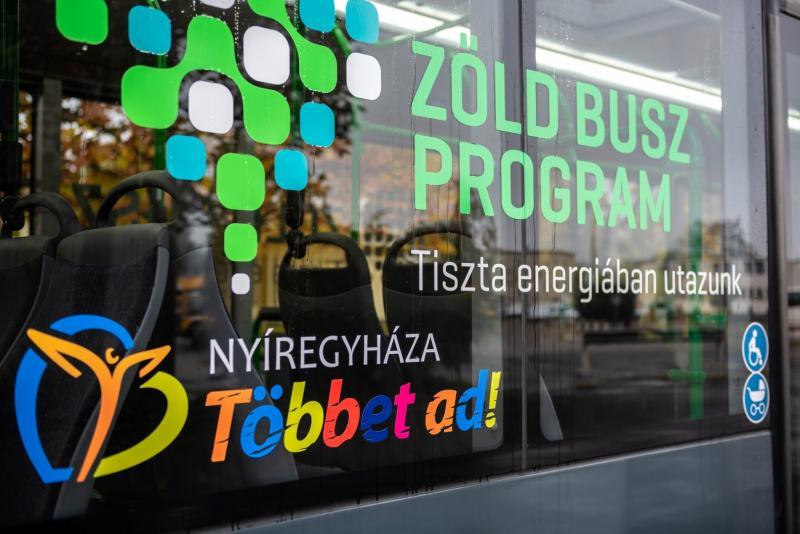 Zöld Busz Program Nyíregyházán