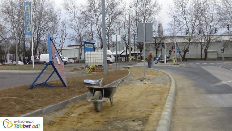 Forgalomkorlátozás a Törzs utca és az Orosi út csomópontjában