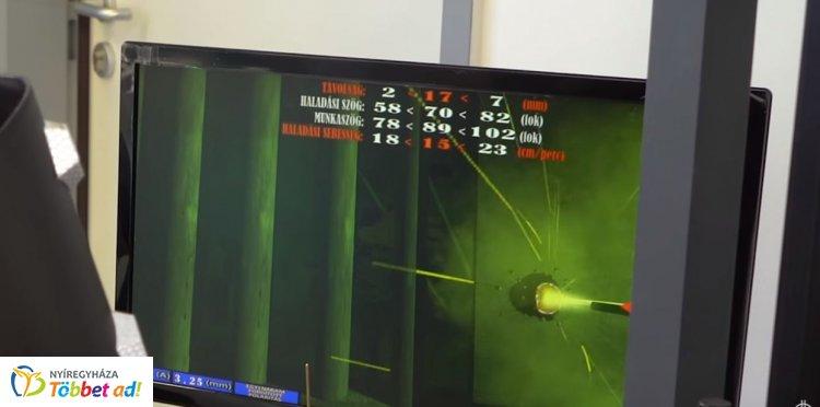 Virtuális ívhegesztővel tanulnak Nyíregyházán - Bejárta az egész országot a hír