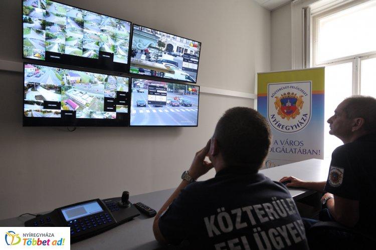 154 térfigyelő kamera ál munkában Nyíregyháza területén - Növelik a biztonságérzetet
