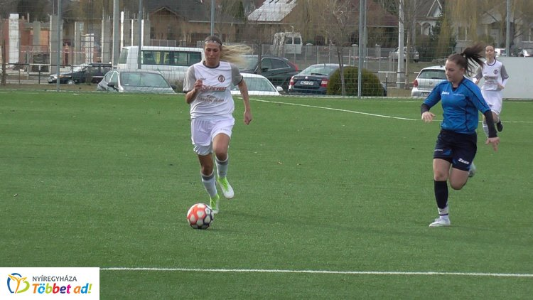 Négy gólt hozott a női focimeccs - a Szolnokot fogadta a Nyíregyháza Spartacus