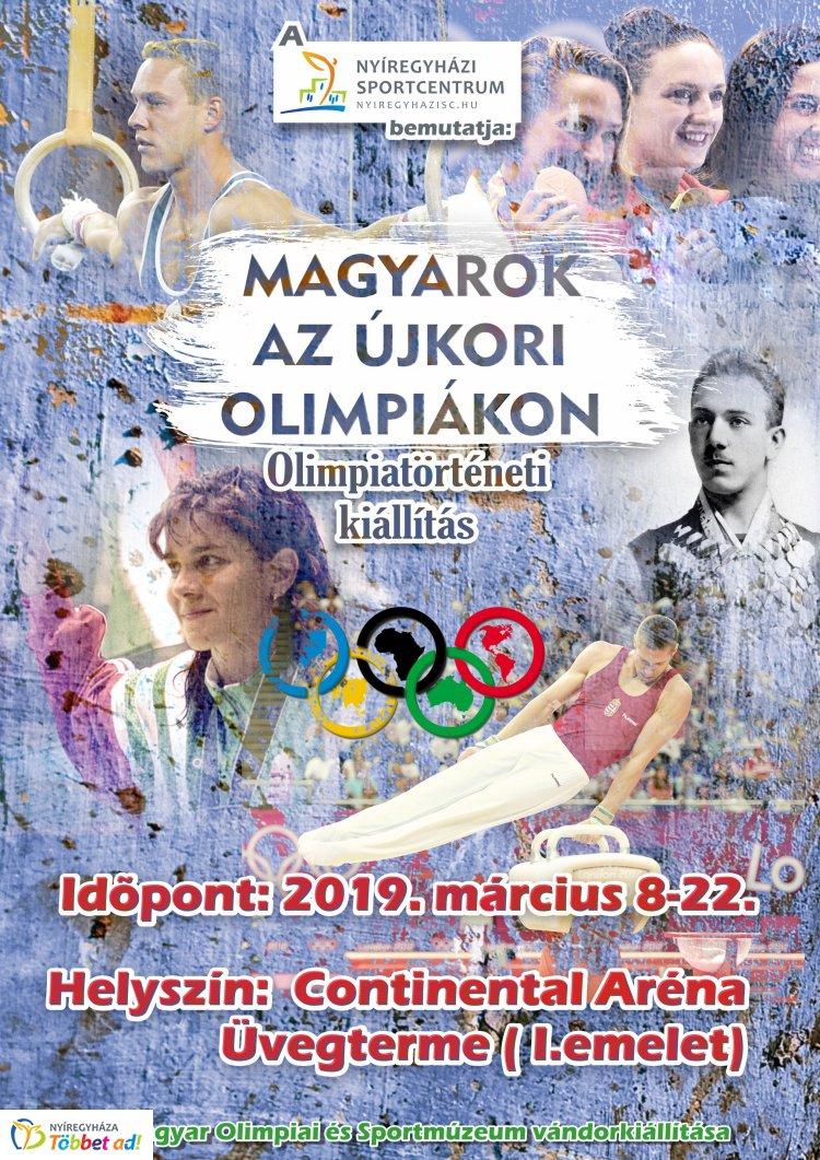 Olimpiatörténeti kiállítás - március 22-ig látható a tárlat a Continental Arénában