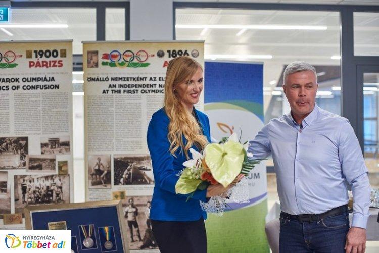 Az értéktár része Szabó Tünde sporttevékenysége – Visszaemlékezés és kiállítás az Arénában