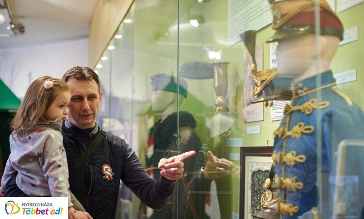 Kokárdás Nap a Jósa András Múzeumban – Sokakat vonzott az ünnepi program