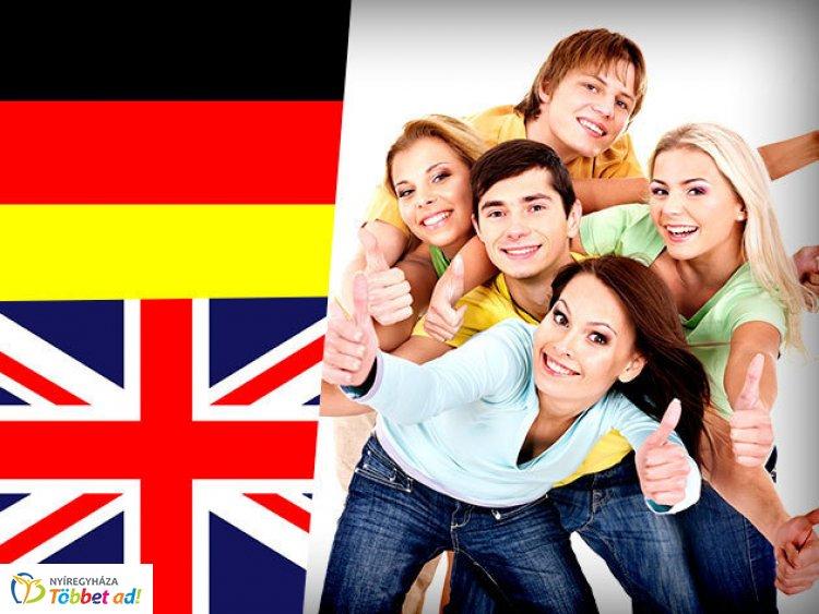 Angol és német nyelvtanfolyamok, térítésmentesen 16 és 65 év közöttieknek