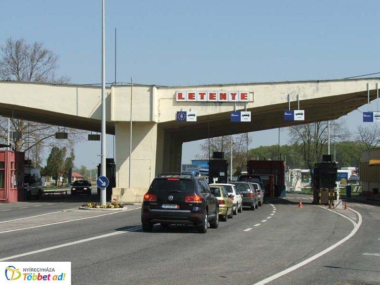 Hétfőtől lezárják a letenyei közúti határátkelőt július 31-ig