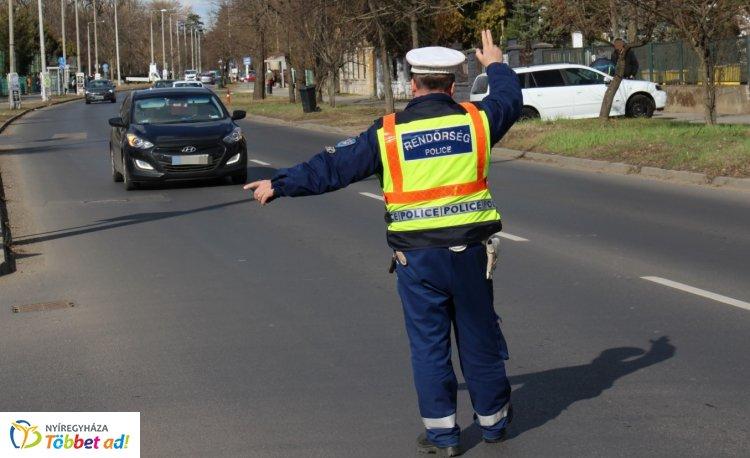 A TISPOL Seatbelt ellenőrzés Szabolcs-Szatmár-Bereg megyei eredményei