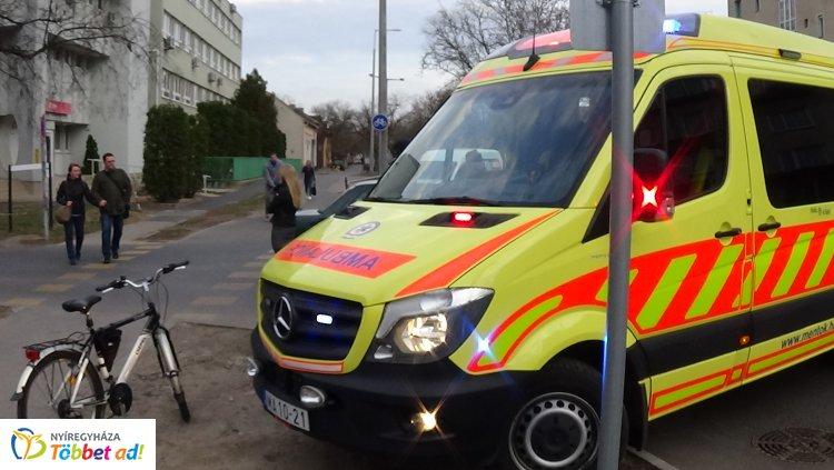 Kerékpáros sérült meg a Pacsirta – Bethlen Gábor utcai csomópontnál