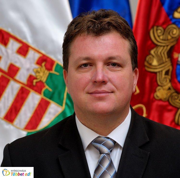 Kitüntették Nyíregyháza alpolgármesterét, dr. Ulrich Attilát