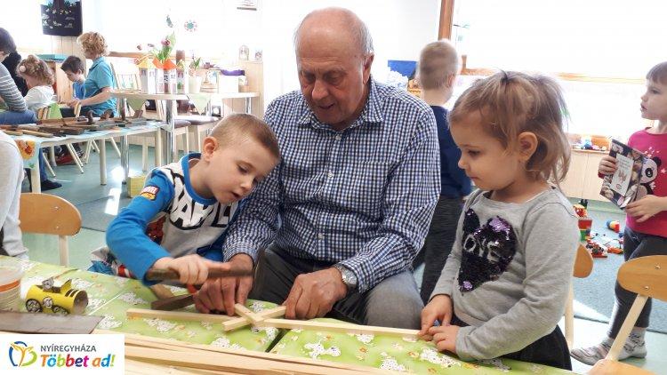 Apák napja a Szent Imre Katolikus Óvodában - vendégül látták az édesapákat