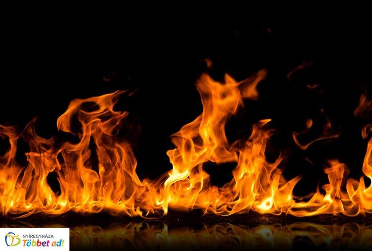 Hulladék égett Demecserben kedden - személyi sérülés nem történt