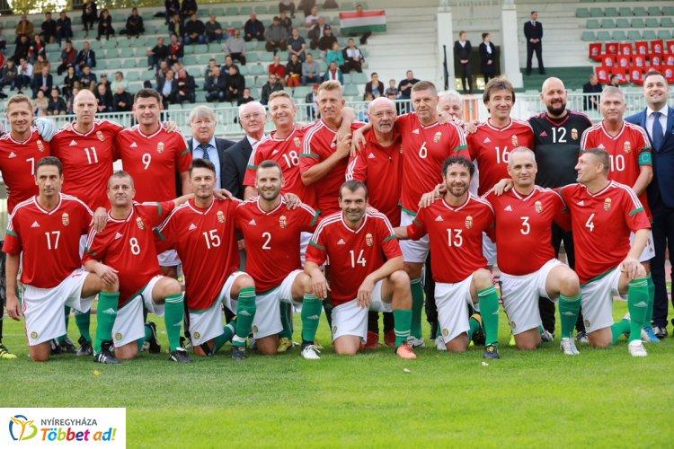 Jótékonysági Sportgála - szombaton Nyíregyházán az öregfiúk-válogatott