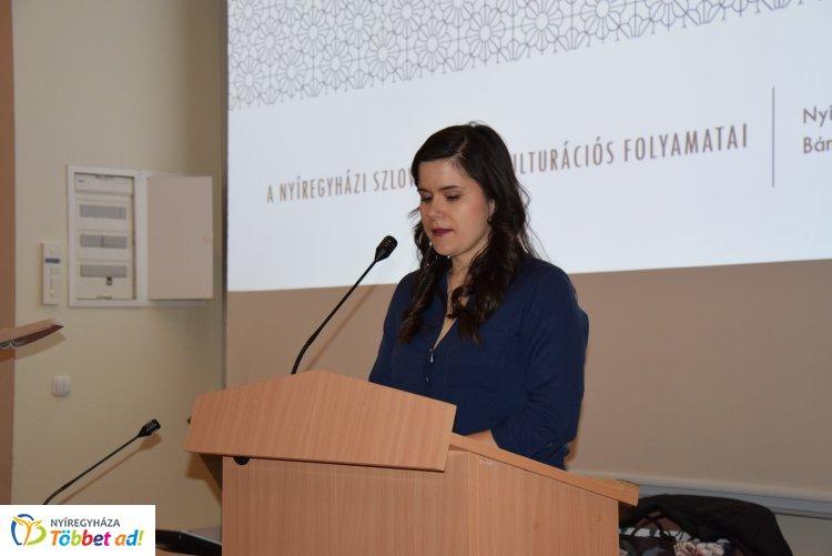 Előadás nyíregyházi szlovákság akkulturációs folyamatáról a megyei könyvtárban