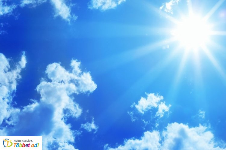 A hétvégén a napsütésé lesz a főszerep, nem várható csapadék