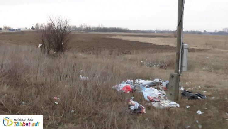 Tavaly mintegy 500 tonna illegális hulladékot számolt fel a NYÍRVV
