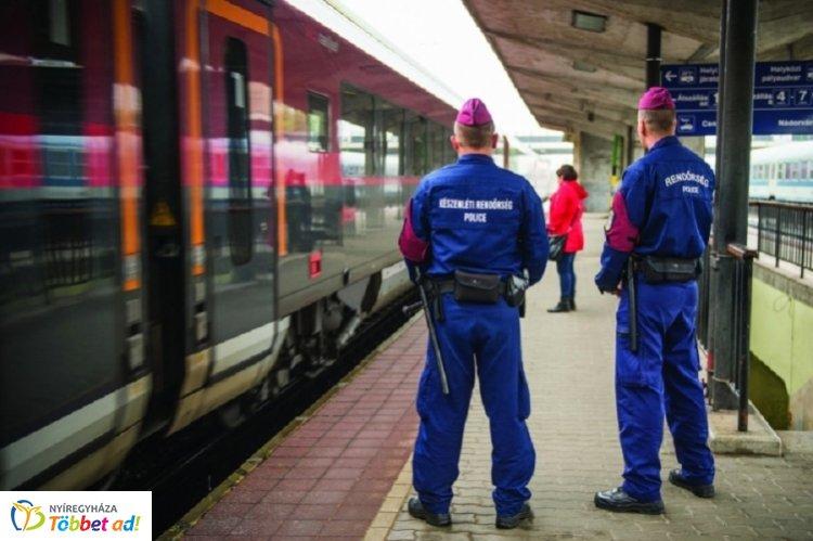 Fokozott ellenőrzés lesz a vonatokon és vasútállomásokon, kedden kezdődik az akció