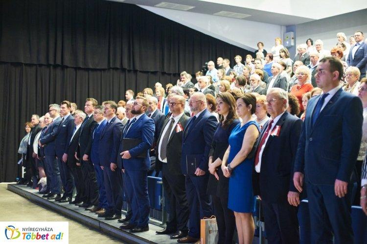 A lengyel-magyar barátságot ünnepelték Nyíregyházán, a Váci Mihály Kulturális Központban